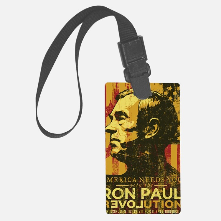 Ron Paul Distressed Poster 2009 Luggage Tag
