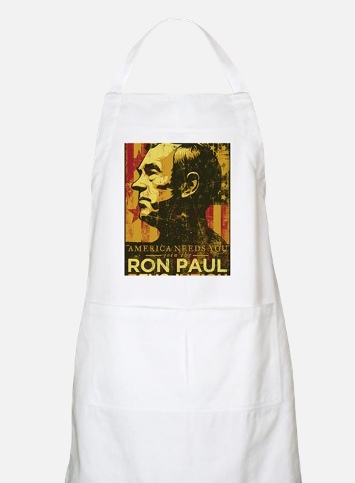 Ron Paul Distressed Poster 2009 Apron