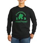 Ireland Forever Long Sleeve Dark T-Shirt