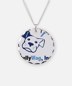 BullyWag-square Necklace