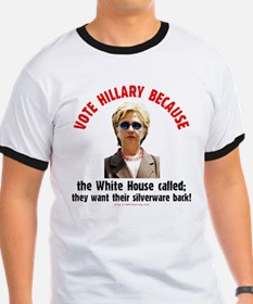 Vote Hillary Because T