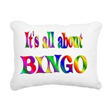 BINGO Rectangular Canvas Pillow