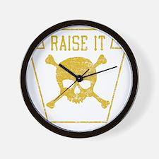 RaiseIt Wall Clock
