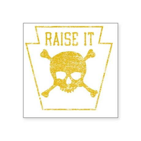 "RaiseIt Square Sticker 3"" x 3"""