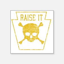 """RaiseIt Square Sticker 3"""" x 3"""""""
