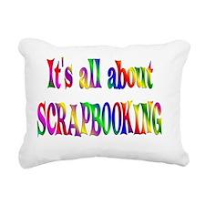 SCRAP Rectangular Canvas Pillow