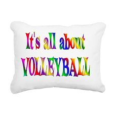 VOLLEYBALL Rectangular Canvas Pillow