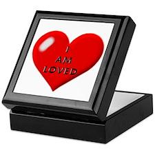 I am loved Keepsake Box