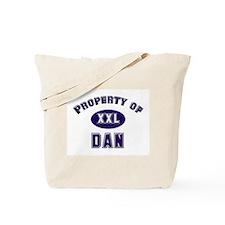 Property of dan Tote Bag