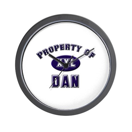 Property of dan Wall Clock
