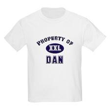 Property of dan Kids T-Shirt