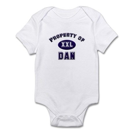 Property of dan Infant Bodysuit