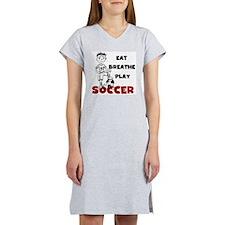 eatsoccer Women's Nightshirt
