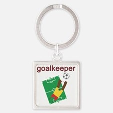 goalkeepers Square Keychain