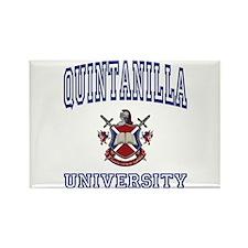 QUINTANILLA University Rectangle Magnet