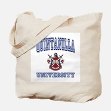 QUINTANILLA University Tote Bag