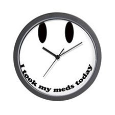 tookmymeds Wall Clock