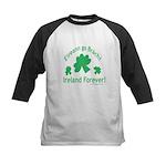 Ireland Forever Kids Baseball Jersey