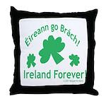 Ireland Forever Throw Pillow