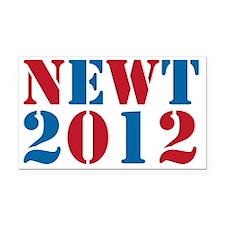 newt2012-01 Rectangle Car Magnet