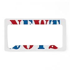 newt2012-01 License Plate Holder