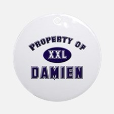 Property of damien Ornament (Round)