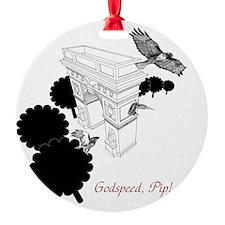 hawks_uncropped final version 1 Ornament