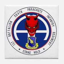 Devil 1-504 v1 Tile Coaster