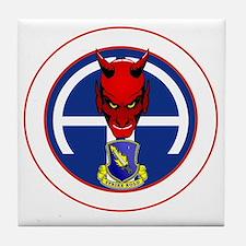 Devil 1-504 v1 - white Tile Coaster