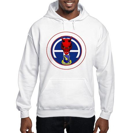 Devil 1-504 v1 - white Hooded Sweatshirt