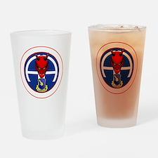 Devil 1-504 v1 - white Drinking Glass