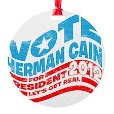 Vote-Cain Ornament