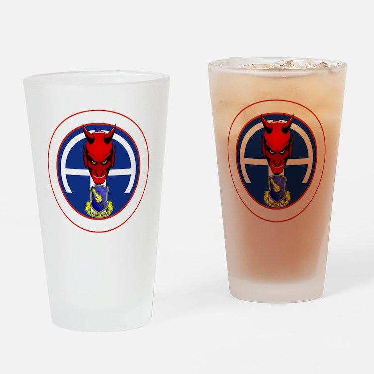 Devil 2-504 v1 - white Drinking Glass