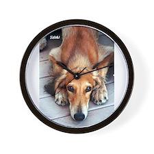 Unique Saluki dogs Wall Clock