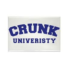 Crunk University Rectangle Magnet