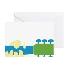 woodstock_2011_bird_guitar_art_3000x Greeting Card