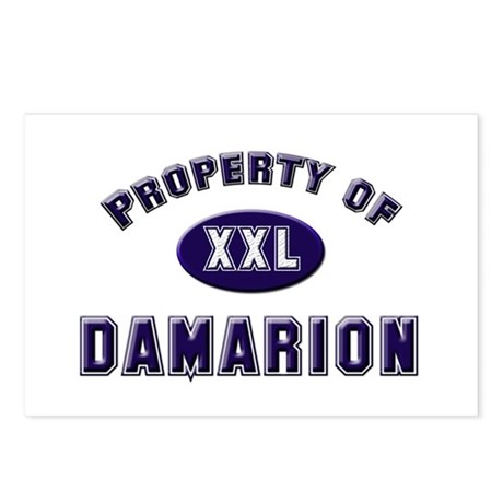 Property of damarion Postcards (Package of 8)