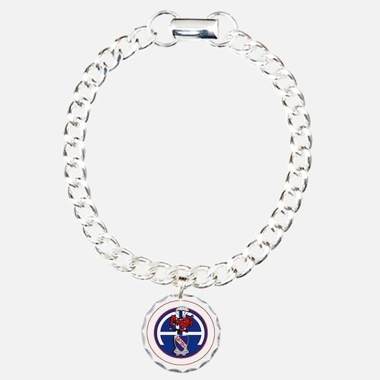Fury 1st 508th v1 - whit Charm Bracelet, One Charm