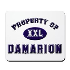 Property of damarion Mousepad