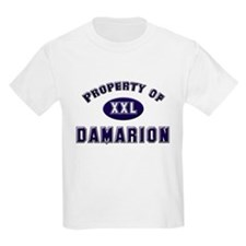 Property of damarion Kids T-Shirt
