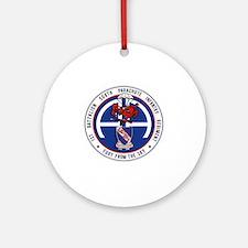 Fury 1st 508th v1 Round Ornament