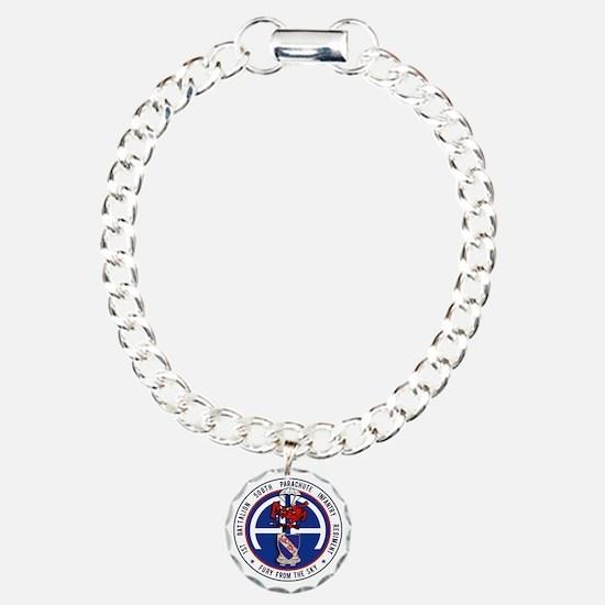 Fury 1st 508th v1 Charm Bracelet, One Charm