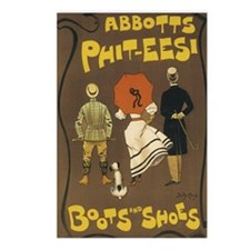049bootsshoes Postcards (Package of 8)