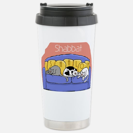 shalomcats Stainless Steel Travel Mug