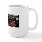 Fez tannery Large Mugs (15 oz)