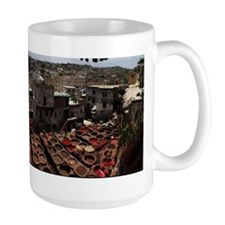 Tannery in Fez - Morocco Mug