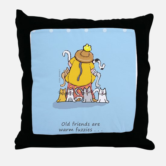 catladyfriend Throw Pillow