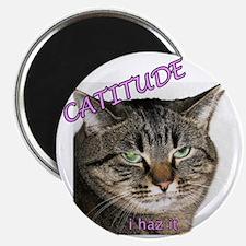 Catitude 2 10x10 Magnet