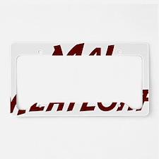 Ma-Meatloaf-(white-shirt) License Plate Holder