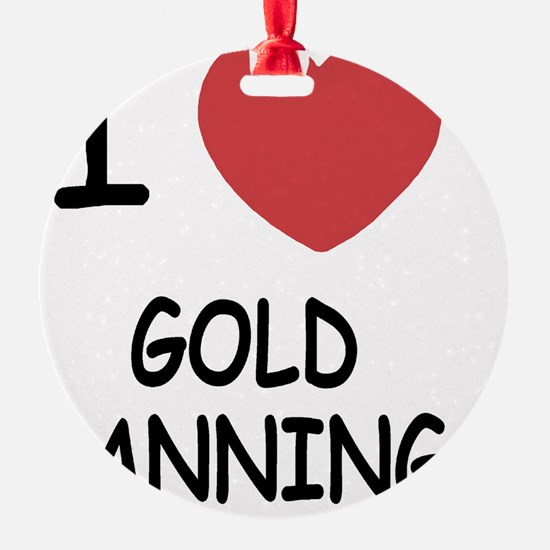 GOLD_PANNING Ornament
